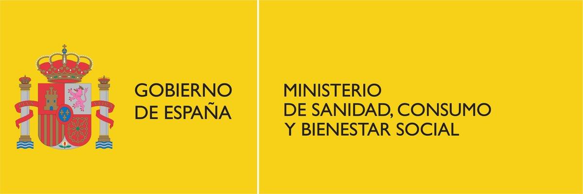 Resultado de imagen de ministerio de sanidad consumo y bienestar social