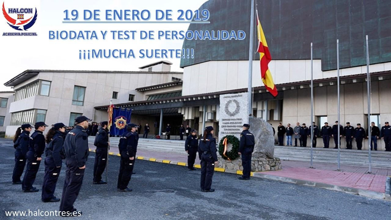 BIODATA POLICÍA NACIONAL PROMOCIÓN XXXV